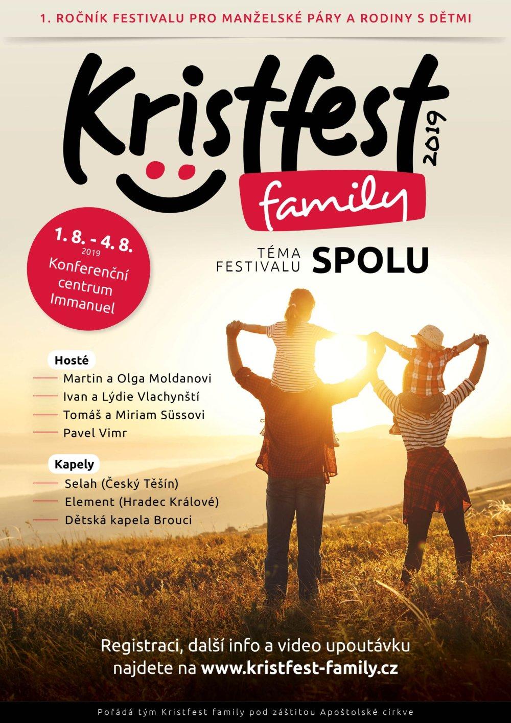 Plakát Kristfest family 2019