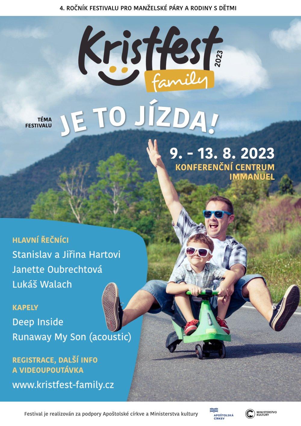 Plakát Kristfest family 2020