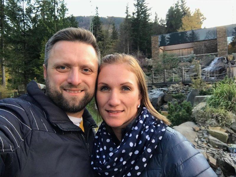 Marek a Ella Cieślarovi Kristfest family 2021